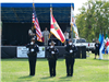 Police Department Flag Bearers