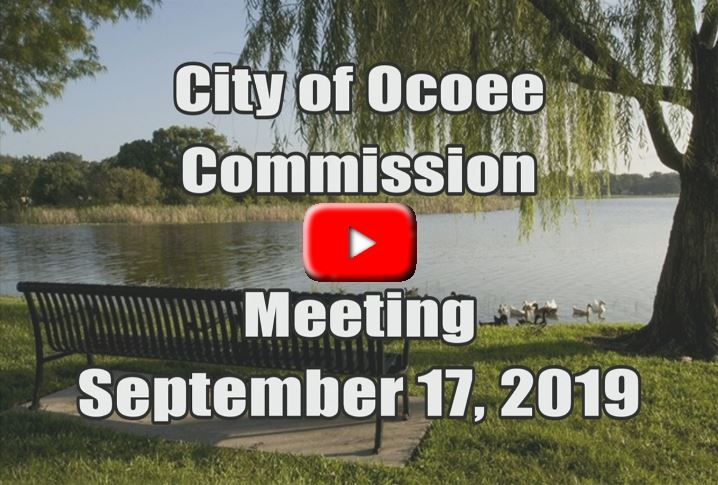 City Commission Meeting Recorded on 09_17_19