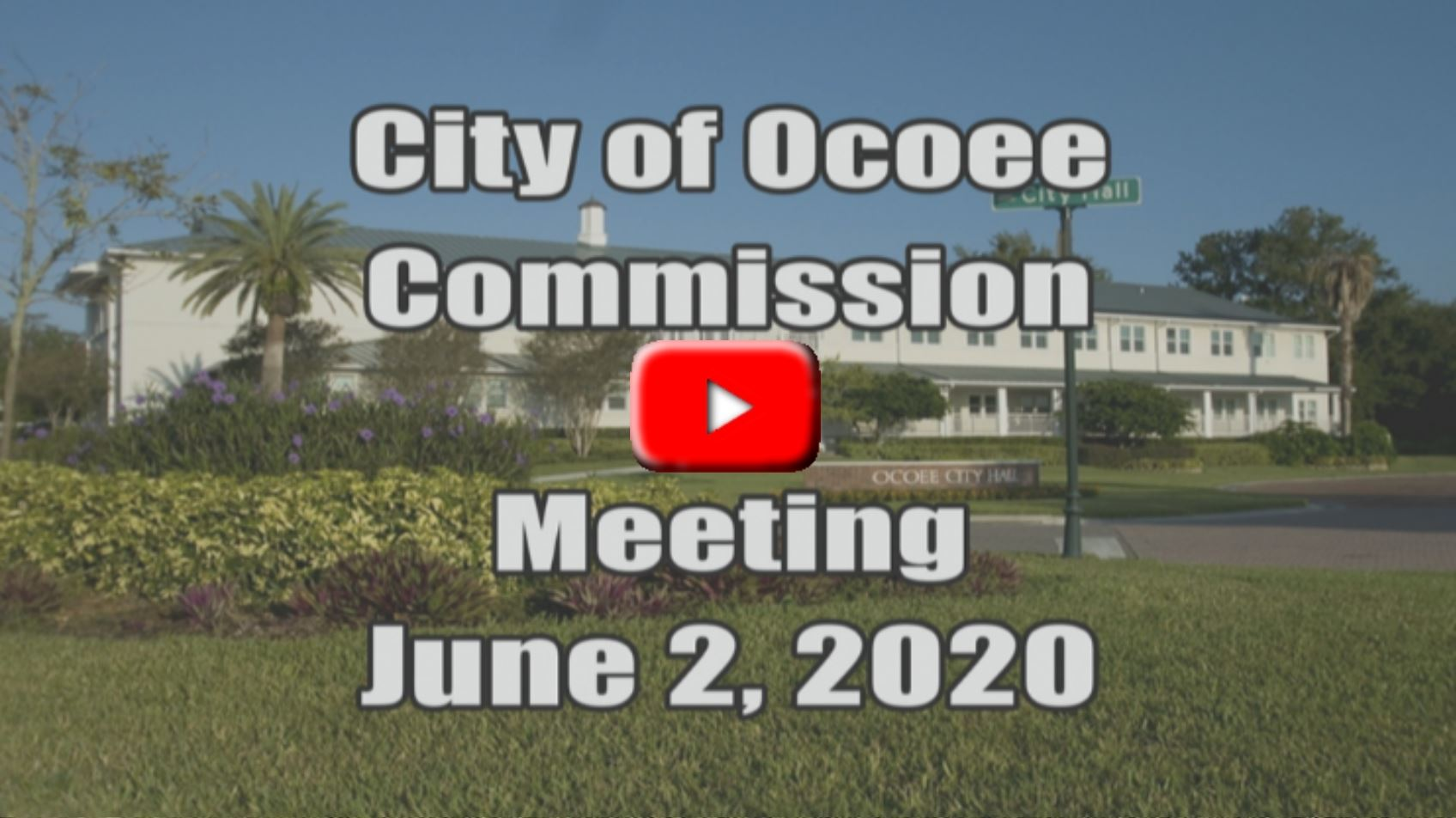 City Commission Meeting Recorded on 06_02_20