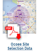 Ocoee Site Selection Data (PDF)