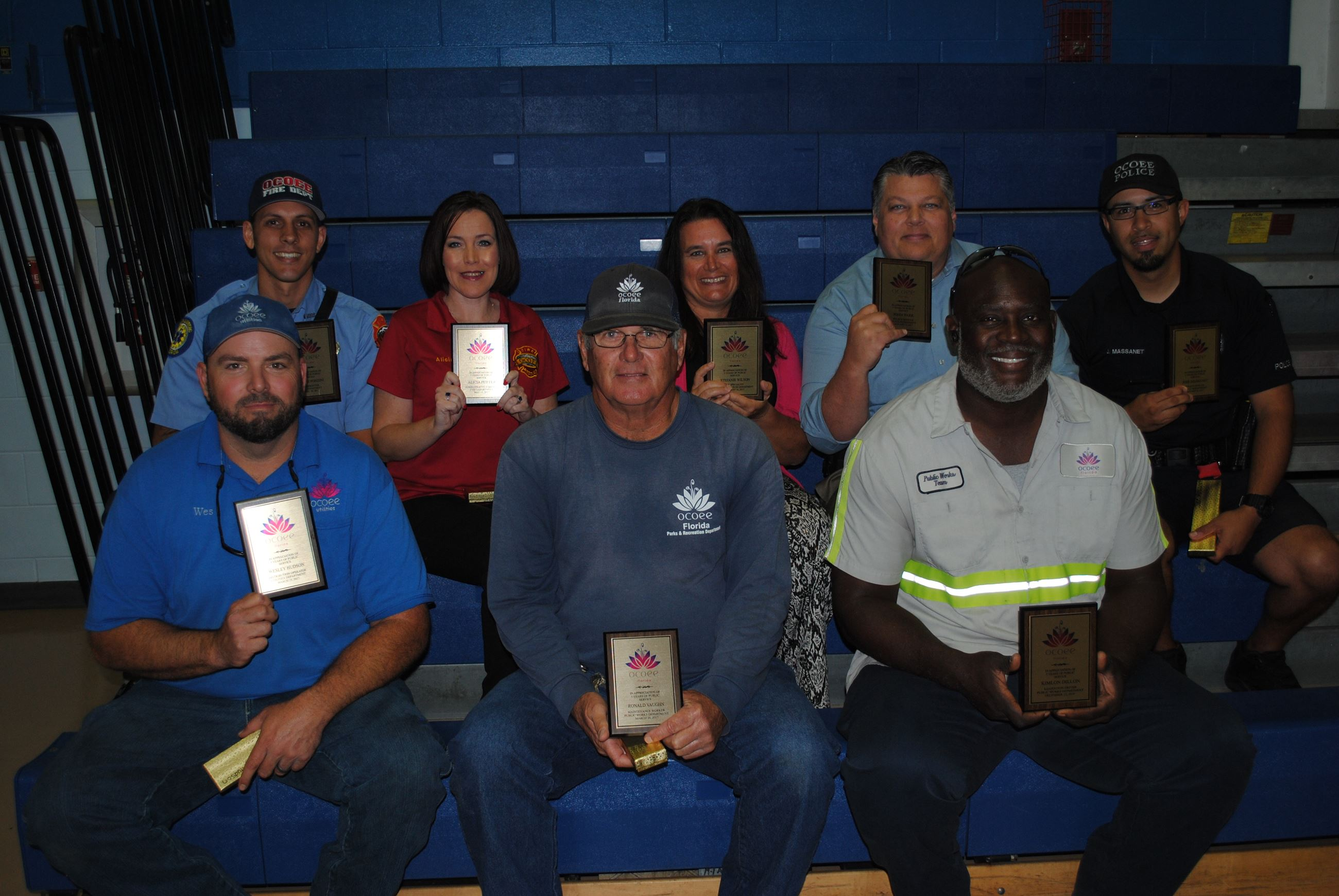 Employee Luncheon April 13, 2017 - 5 years of service
