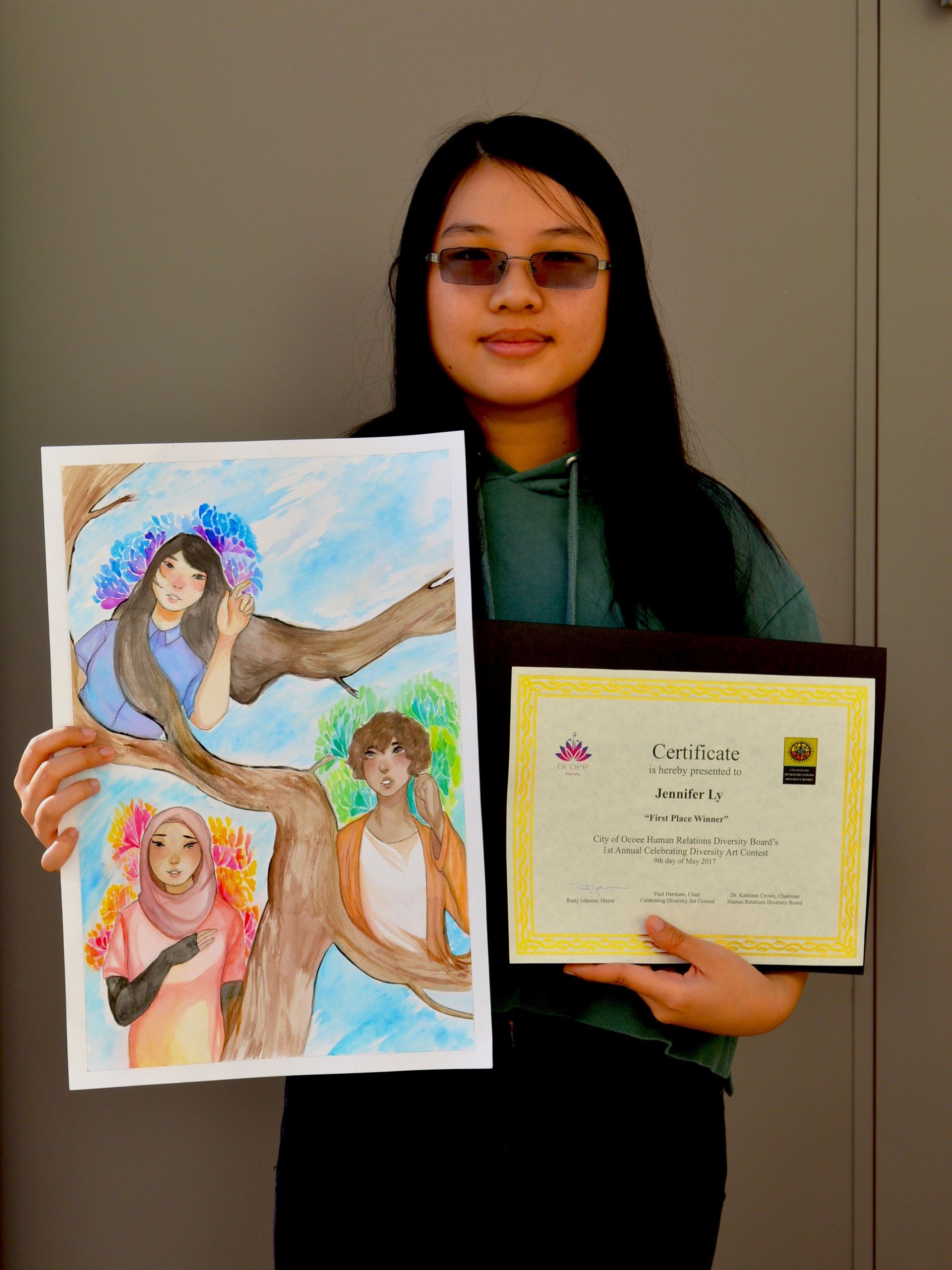 Diversity Art Contest Winner-1st Place