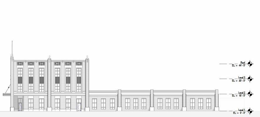 City Hall Concept McKey Side View