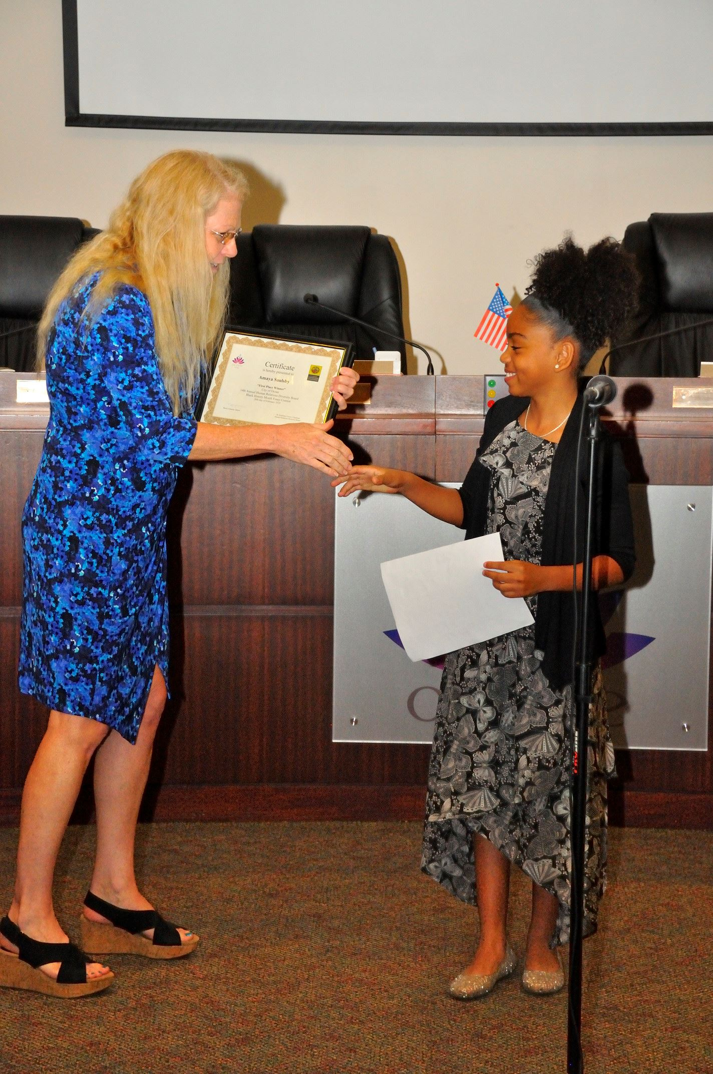 14th Annual Black History Month Essay Award Photos