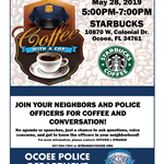 Coffee with a Cop Banner