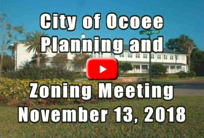 Planning and Zoning Meeting 11.13.18