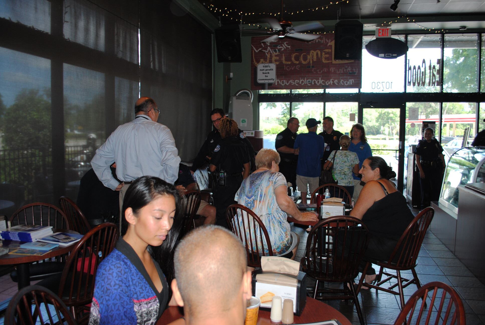 Coffee with a Cop 6-17-15 (11)