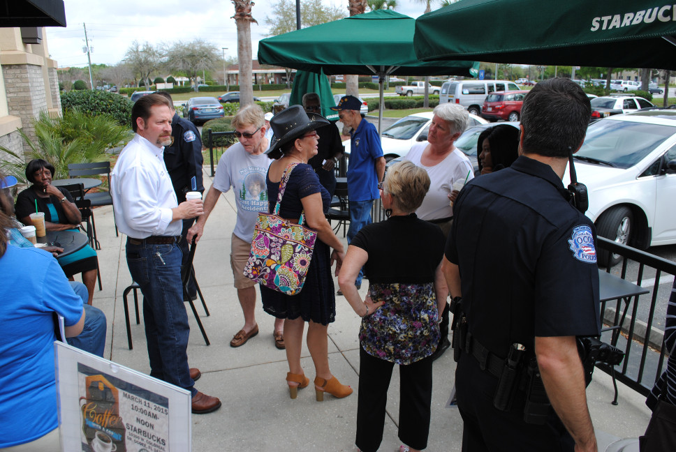 Coffee With a Cop 3-11-15