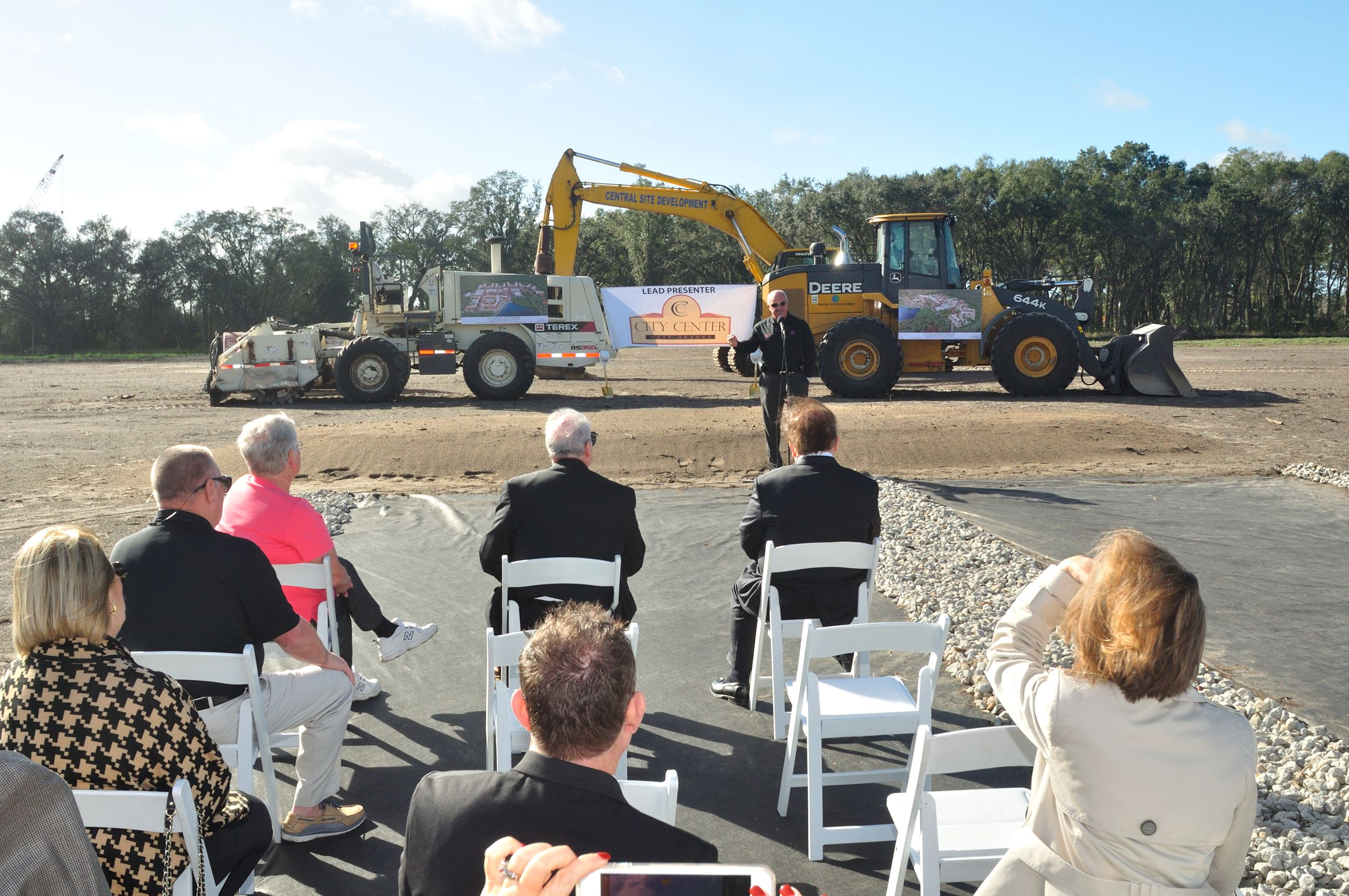 City Center West Orange Groundbreaking Ceremony